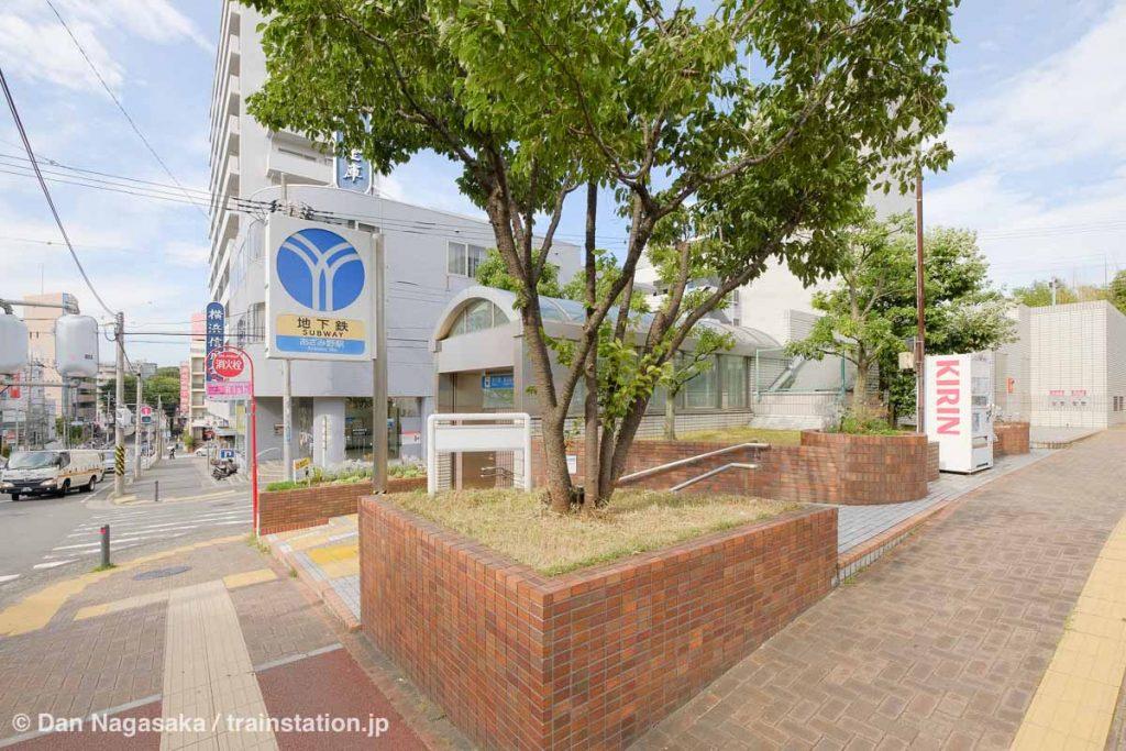 横浜市営地下鉄あざみ野駅 出口