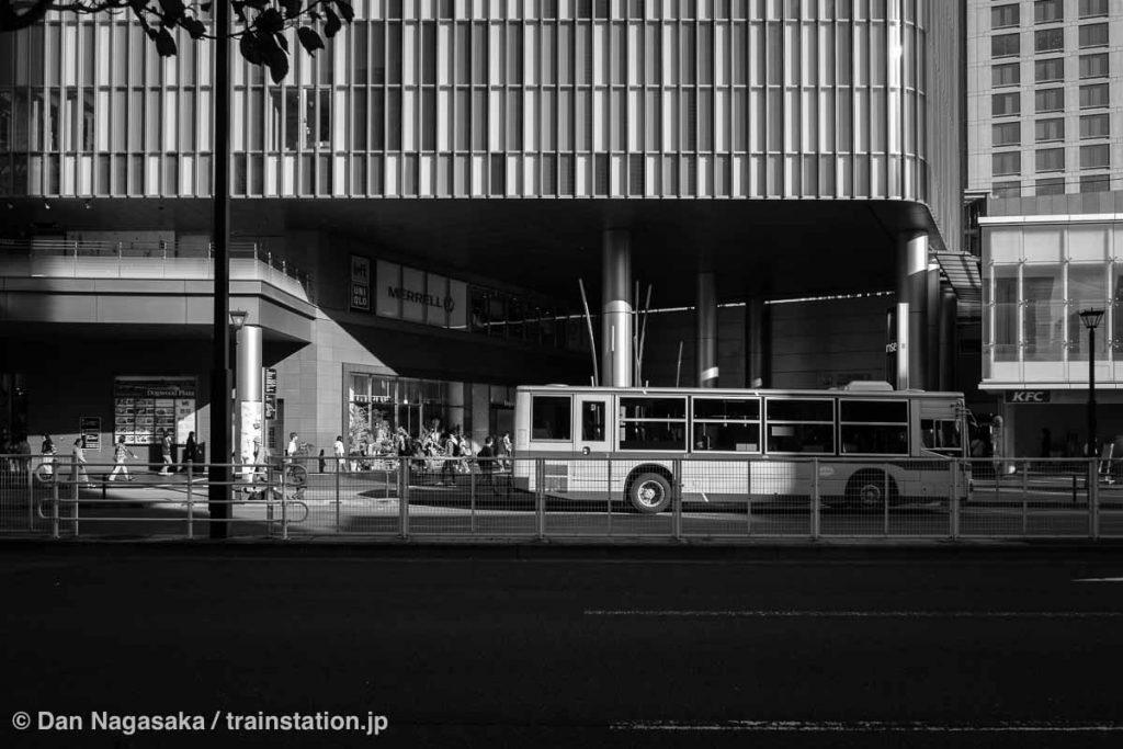 二子玉川駅西口のバス乗り場