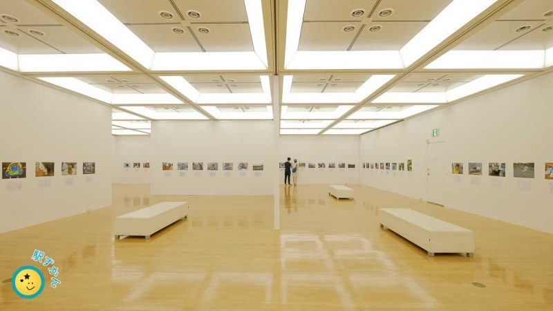 2階展示室,美術館ギャラリー