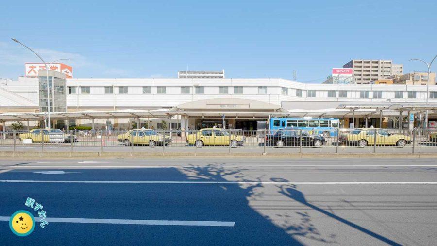 あざみ野駅 西口タクシー乗り場・バス停
