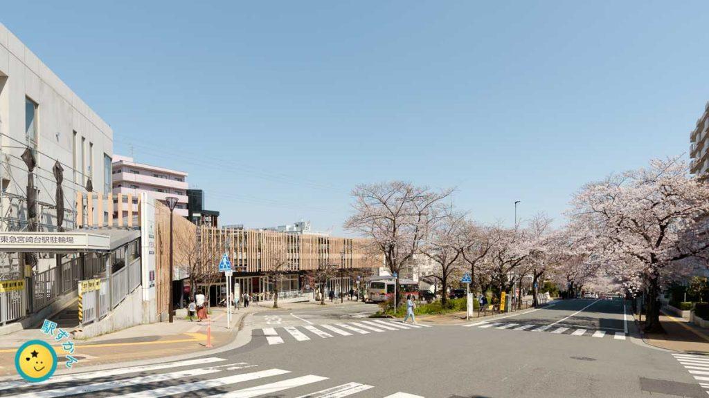 宮崎台駅南口ロータリー