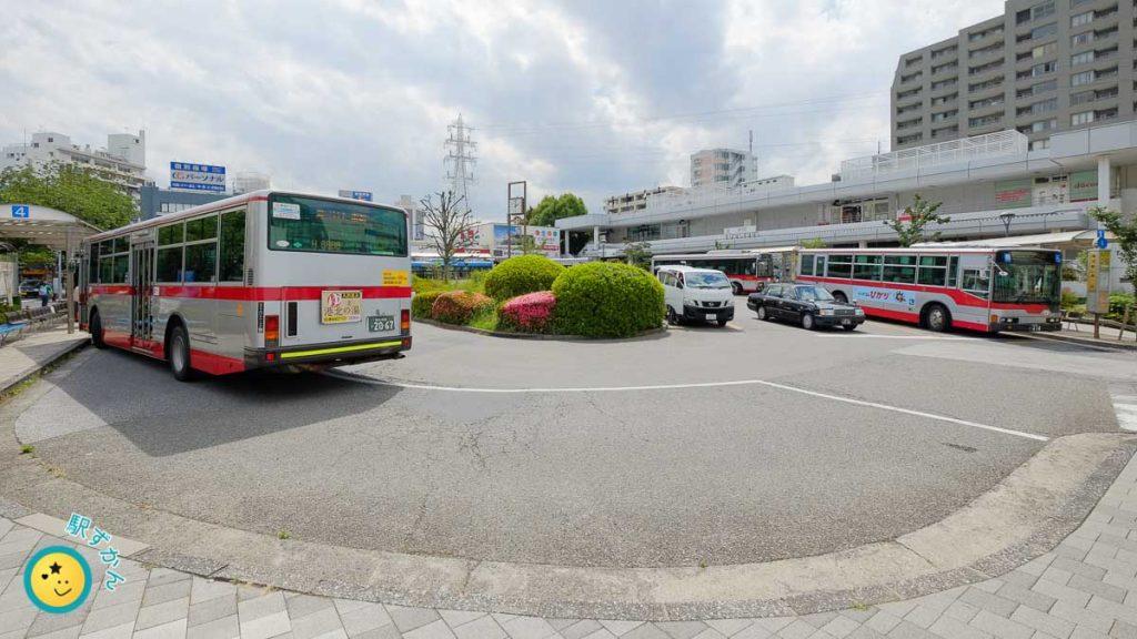 鷺沼駅ロータリー