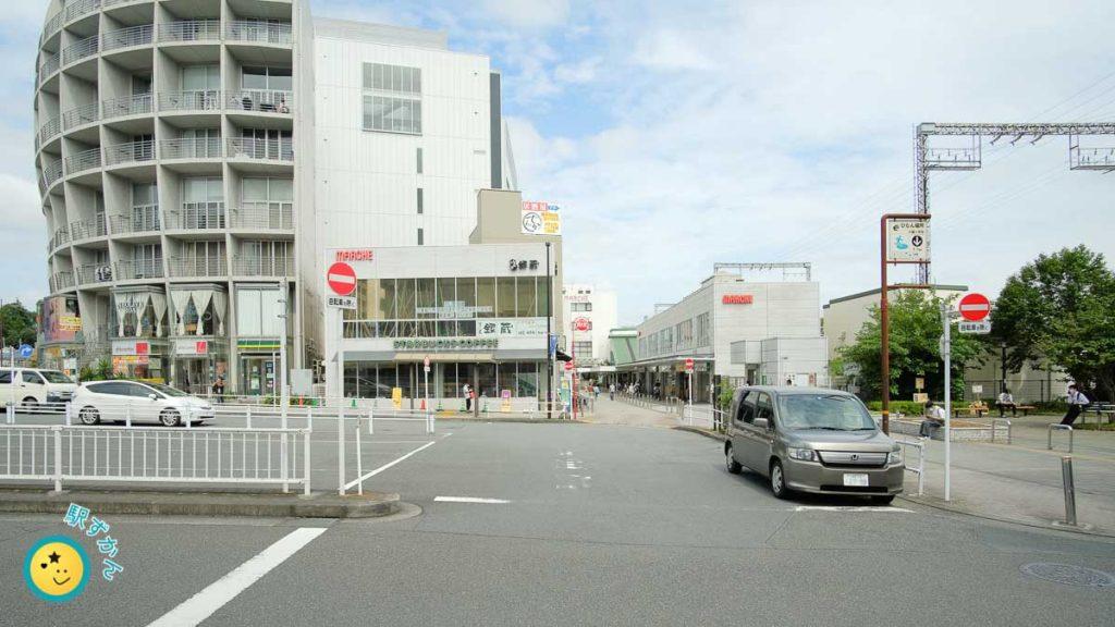 鶴川駅西口タクシー乗り場