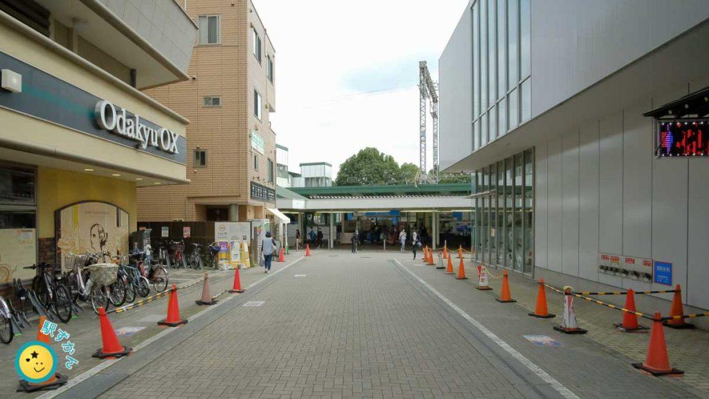 鶴川駅北口改札口