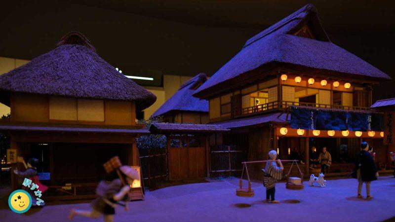 江戸時代のジオラマ